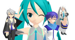 MMD - MikuMikuDance download by N0B1ll1TY
