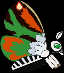 Mothra Leo (Edit and transparent). by xXKinGhidoXx