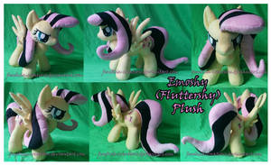 Emoshy (Fluttershy)  Plush by FeneksiA