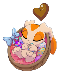 chao Cream: Easter basket by FeneksiA