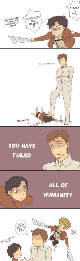 Funny Attack On Titan Comics By Ashry42 On Deviantart