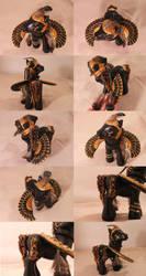 Anubis Egyptian by customlpvalley