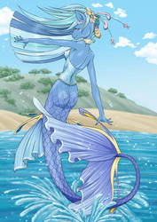 MLP Anthro Water by customlpvalley