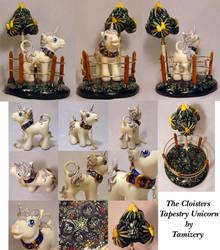 Real Custom Tapestry Unicorn by customlpvalley