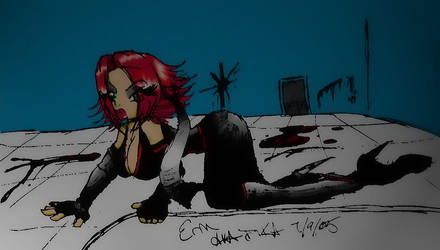 Rayne Hiding..unsocially-yours by bloodraynefans