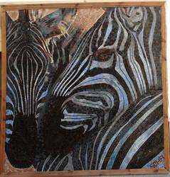 mosaic zibra by mosaic-masters