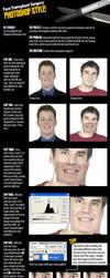 PS Face Transplant Tutorial by lexigeek