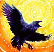 The Raven by Koeskull