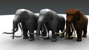 Mammoths by Berandas