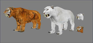 Sabre Cats by Berandas