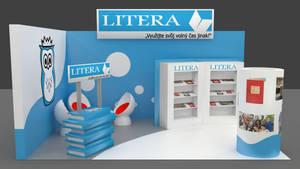 Exhibition booth design 1 by Berandas