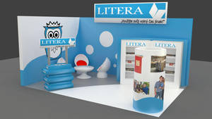 Exhibition booth design 2 by Berandas