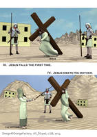 Stations of the cross - comics - page 2 by Berandas