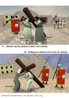 Stations of the cross - comics - page 3 by Berandas