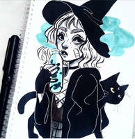 witch by imjustawitch