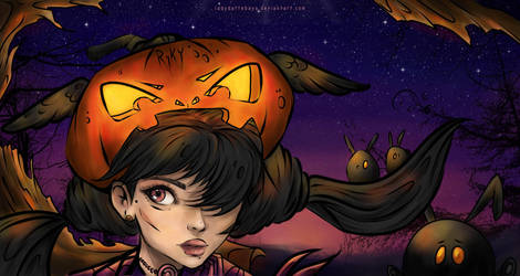 Halloween challenge by LadyDattebayo