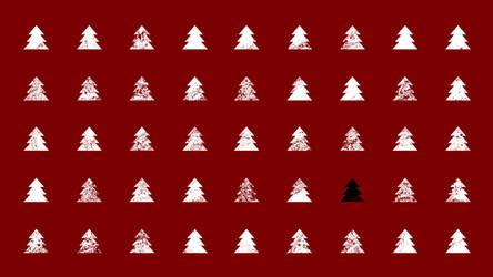 Christmas tree by LadyDattebayo
