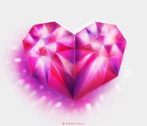 Gem heart by LadyDattebayo