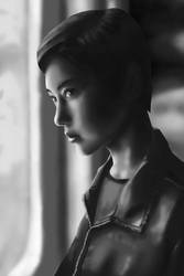 portrait wip by LadyDattebayo
