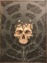 Skull web by Alentrix