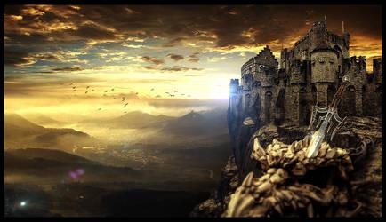 BIG ROCK CASTLE by EBENEWOOD
