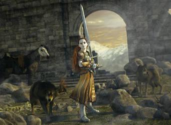 The Maiden of Scandriel by Zwavelaar