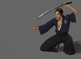 Samurai Champloo- Jin by nastenka
