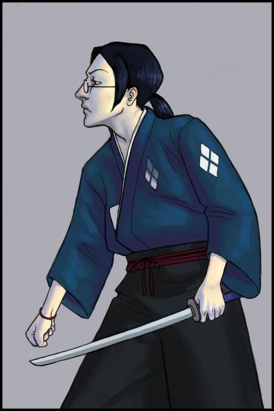 Samurai Champloo- Jin again by nastenka