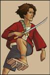 Samurai Champloo- Mugen by nastenka