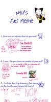 Nyu's Art Meme by Chiibi