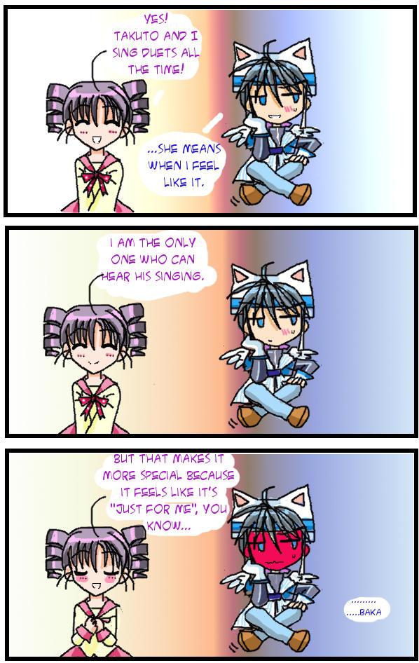 Takuto and Mitsuki: Do You Like To Sing Together? by Chiibi