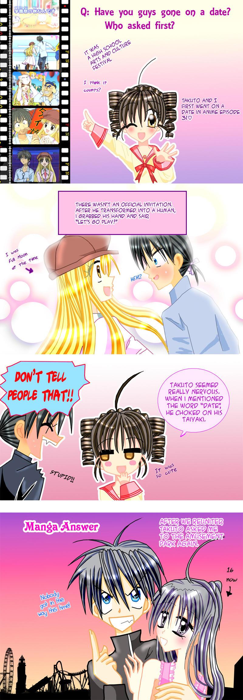 Ask Mitsuki and Takuto Episode 02: Date? by Chiibi