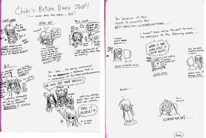 Picture Diary of DEWM by Chiibi