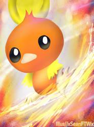 Torchic Fire spin by xSeanFTWx