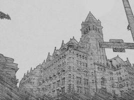 Big Old Building by WickedOffKiltah