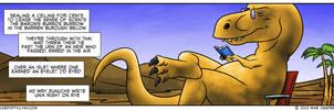 2013-03-12-Thesaurus-Rex by WickedOffKiltah