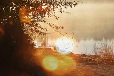 Maranacook Lake by WickedOffKiltah