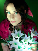 Aerith Gainsborough Cosplay by AliceNero