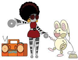 Funkbot Designs by nishi