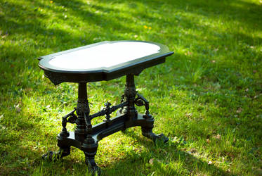 Historicism table - replica 2 by bengo-matus