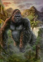 King Kong by dark-spider