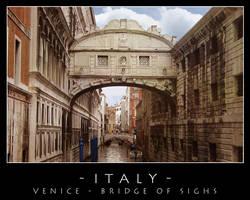 Venice - Bridge of Sighs by dark-spider