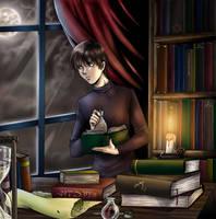 Library by dark-spider