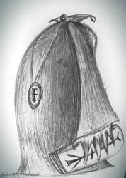 My drawings: dangerous priest by GabrielePintaudi