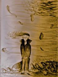 My drawings: Sweet melancholy by GabrielePintaudi
