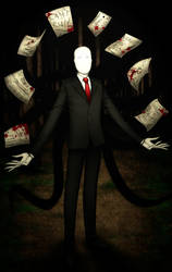 SlenderMan by godisdrawing