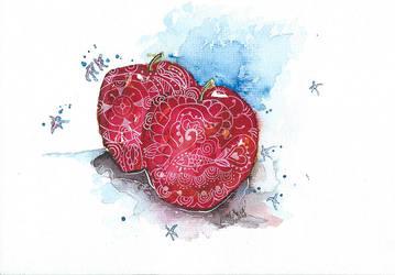 Apple by Psylotin