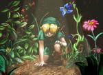 LoZ - The Hidden Garden by MiyaYoshi