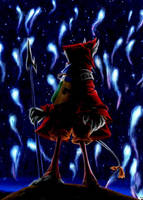 FFIX - Freya and Pyreflies by MiyaYoshi