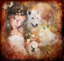 Wolf Maiden by Healersmoon